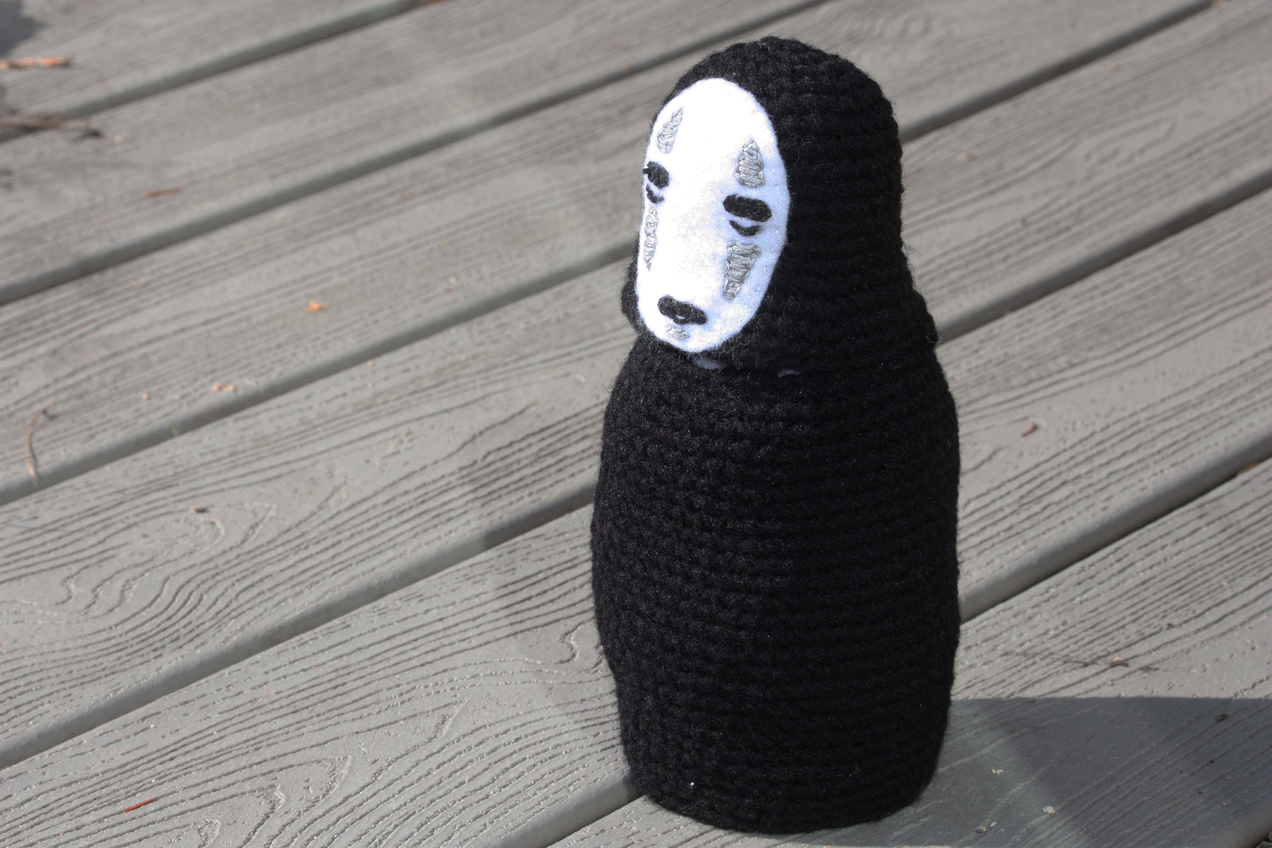 Amigurumi No-Face (Kaonashi) from Spirited Away – DIY Geekery