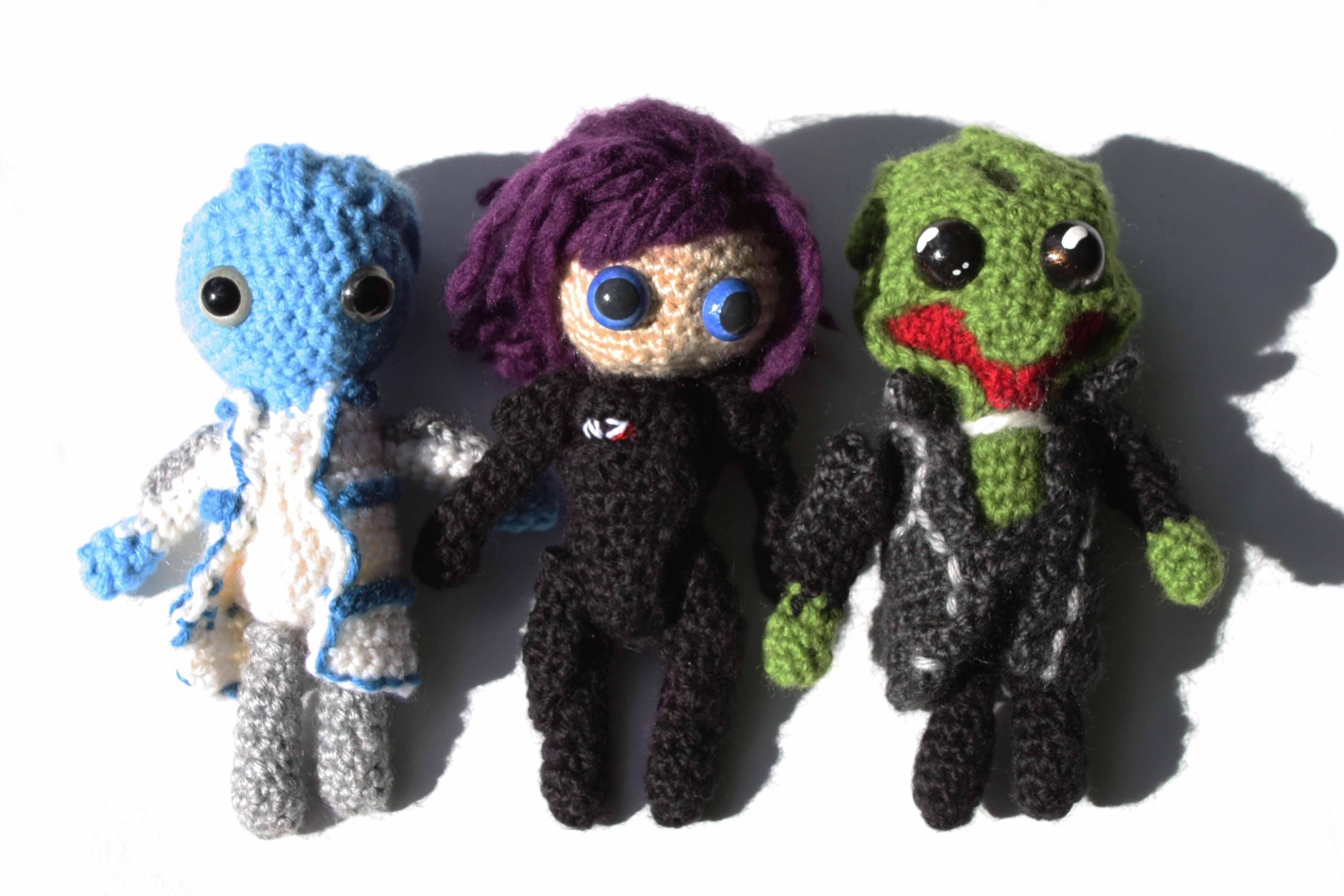 Amigurumi Human Pattern : Amigurumi and Crochet Patterns DIY Geekery