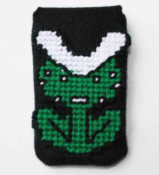 Super Mario - piranha plant iPhone case