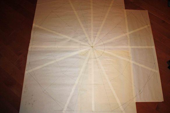 LHC quilt in progress 1