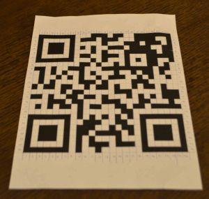 QR code printout