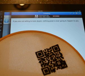 QR code scanned