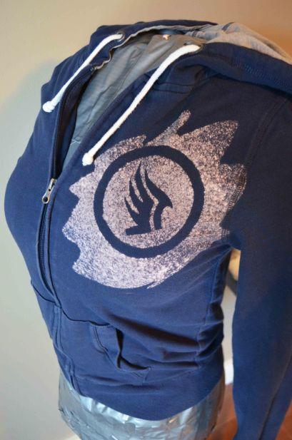 Mass Effect paragon hoodie