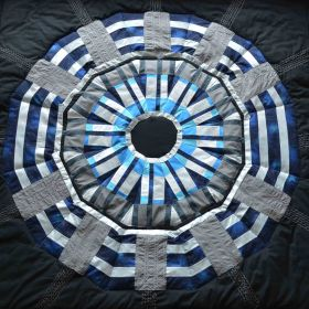 Large Hadron Collider quilt square