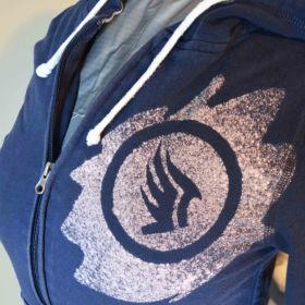 Mass Effect paragon hoodie square