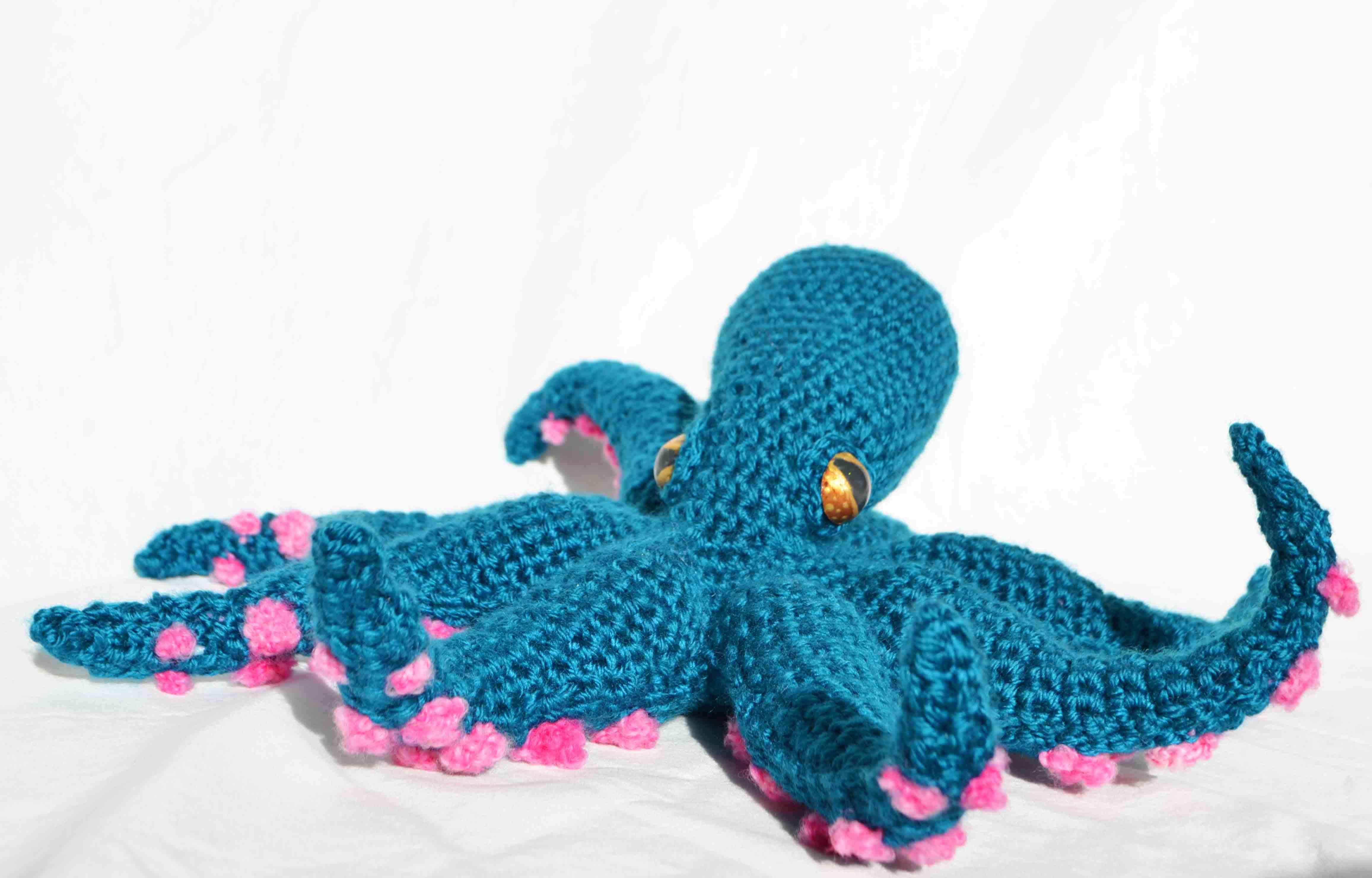 Octopus Amigurumi – DIY Geekery