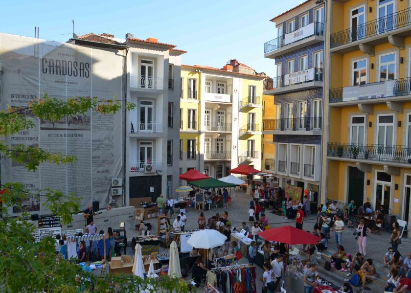 Street fair Porto