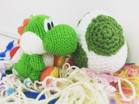 Crafty Hanako — Finally got around to making a Yoshi ^^ #yoshi... | 337x450